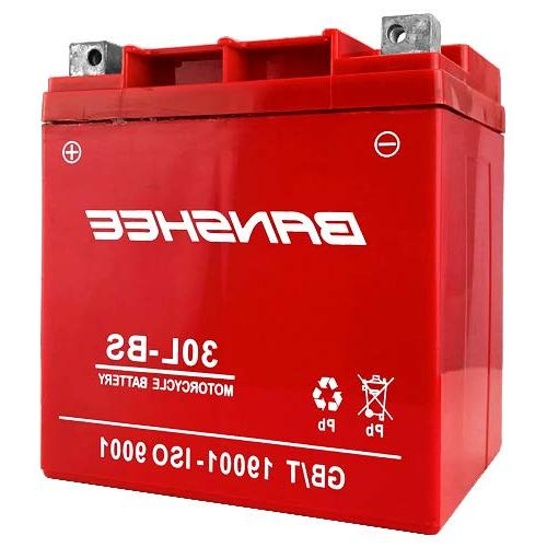 30l bs battery for qualifying harley davidson
