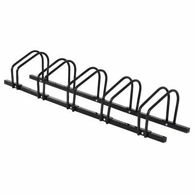 4/5/6 Bike Bicycle Stand Parking Garage Storage Organizer Cy