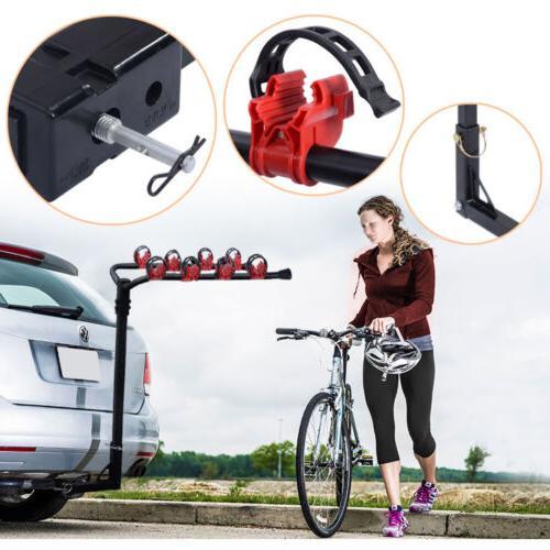 4 Bicycle Rack Trailer Hitch Bike Carrier Car/Truck Racks SU
