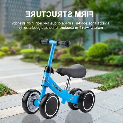 Kids Baby Balance Mini Bike No-Pedal Bicycle Ride On Toy Lea