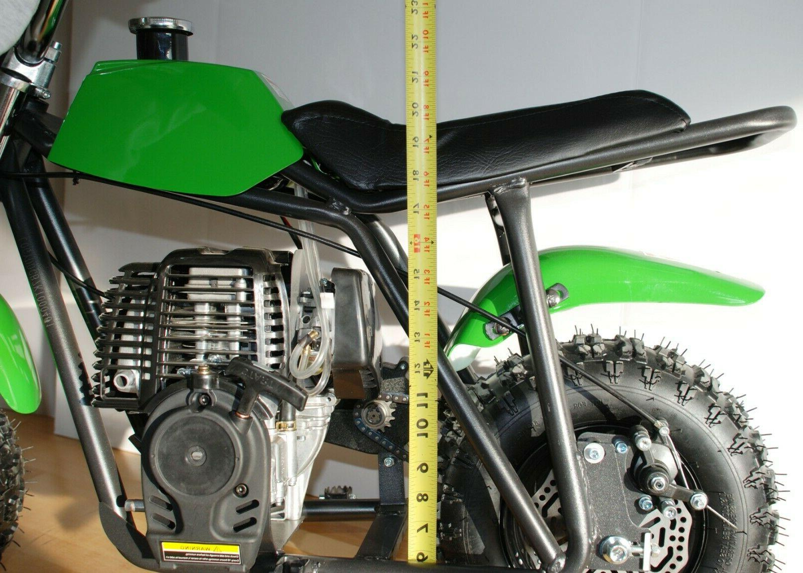 40cc Gas Bike - off-road tires, old