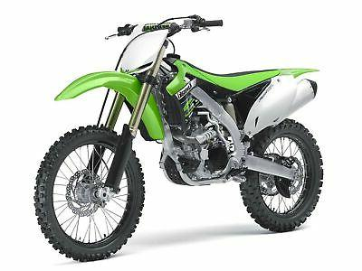 NEW RAY 49403 KAWASAKI KX450F KX 450F DIKE BIKE 1/6 GREEN