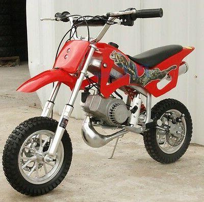 KIDS GAS Motor Mini Dirt Free RED DAKAR
