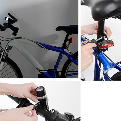 Insten Bicycle Cycling Front Head Light Flashlight