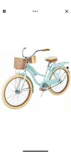 IN HAND Huffy 54578 Nel Lusso 24 inch Cruiser Bike - Mint Gr
