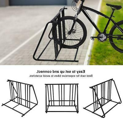 1-6 Bike Bicycle Stand Parking Garage Storage Organizer Cycl
