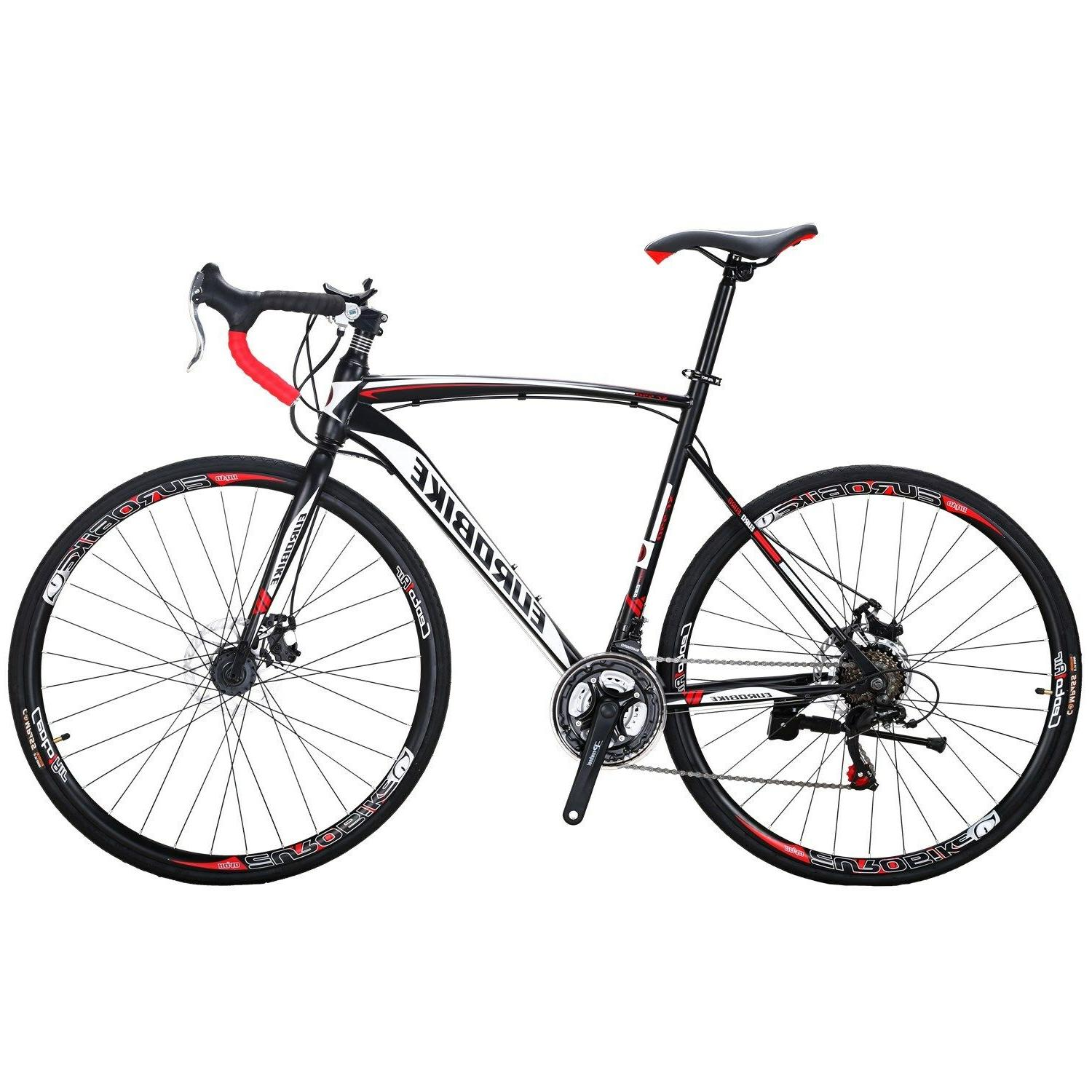 Road Bike 21 Speed Mens Bikes 700C wheels Bicycle Disc Brake