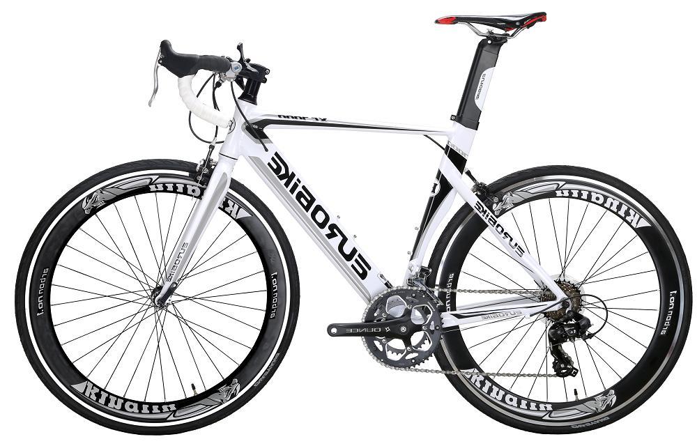 Light Aluminium Road Bike Racing Bicycle Mens Bike Shimano 1