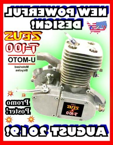 80cc/100cc 2-STROKE MOTORIZED ENGINE KITS MOTORIZED