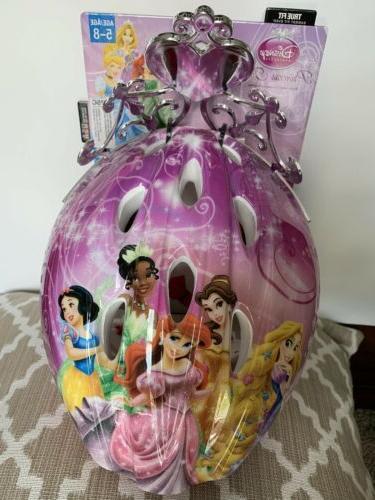 Bell Princess Child Helmets 3d Tiara Pink