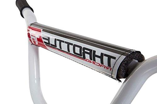 Dynacraft Throttle BMX Bike Black/Red/White