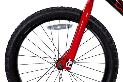 Dynacraft Magna BMX Street/Dirt Bike Black/Red/White
