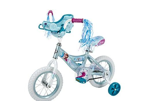 """Huffy 12"""" Disney Frozen Girls' Bike by, Ice Blue"""