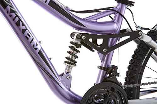 Mongoose R3577 Girl's Full Suspension