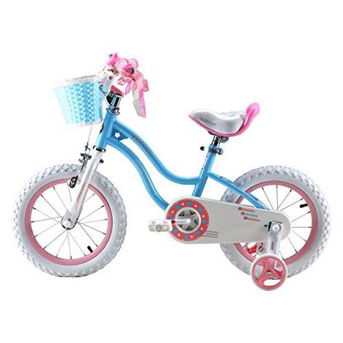Royalbaby Stargirl Girl's Bike, 16 inch Wheels, Blue