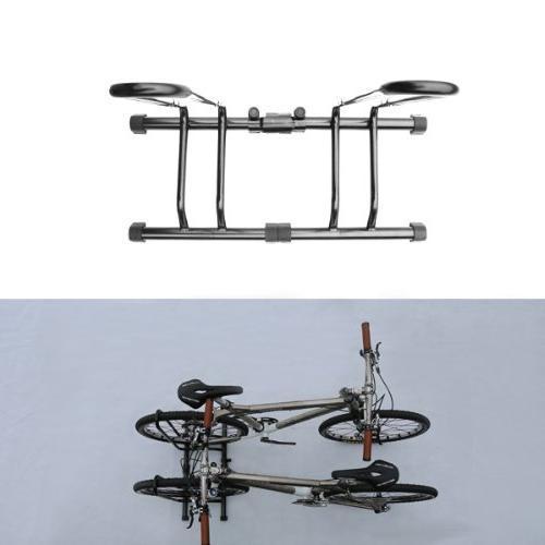 CyclingDeal Adjustable 6 Bike Floor Parking Stand