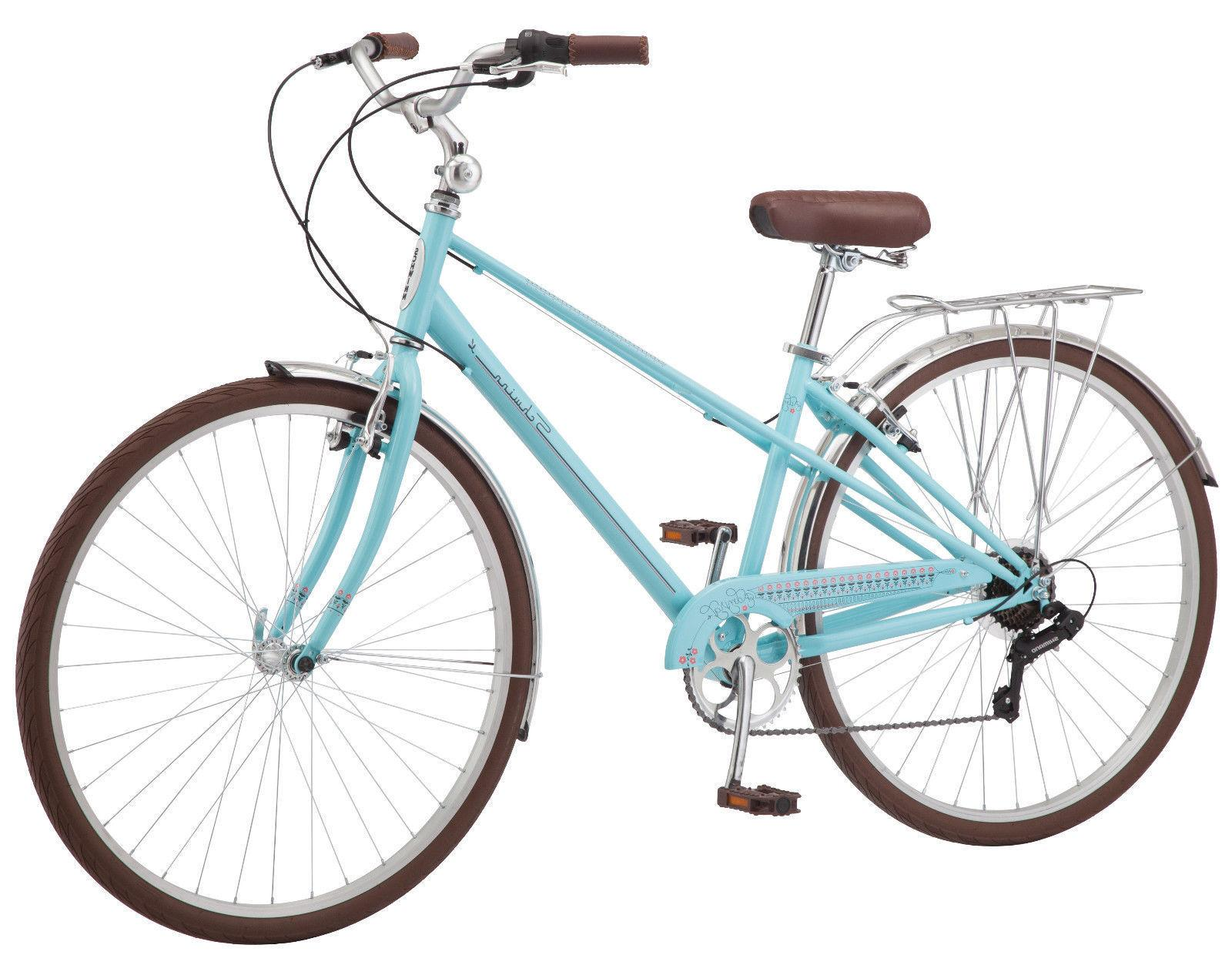 Schwinn Admiral Women/'s Hybrid Bike 700c Aqua Shimano Road Mountain NEW