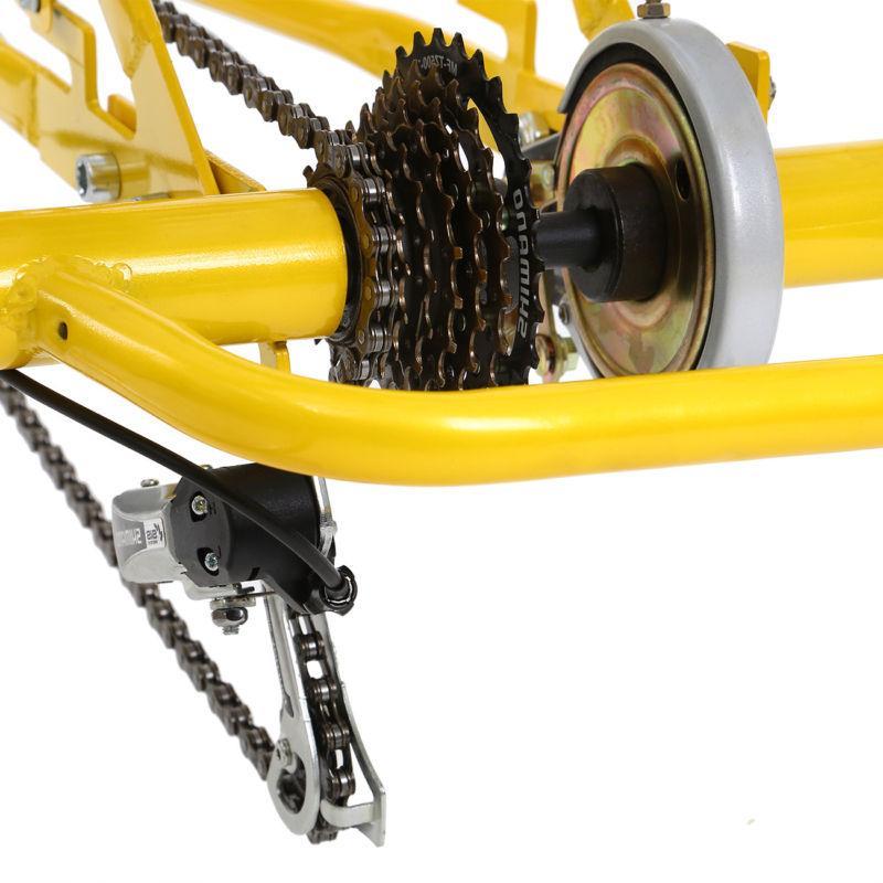 """Adult 24"""" Shimano 7-Speed Trike Bicycle Bike Basket"""