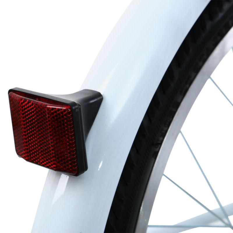 Adult 3-Wheel White Trike Bicycle 7-Speed Tricycle