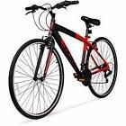 Aluminium Men's 700C Hybrid Authentic Bike Hyper Spinfit Red