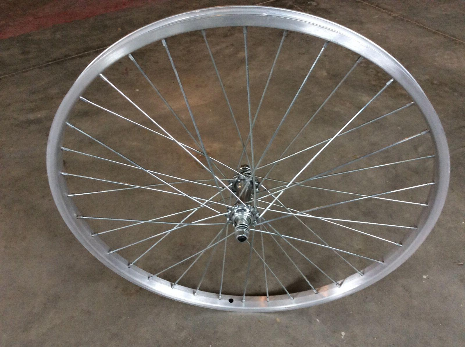 24 inch aluminum bicycle rim in new condition