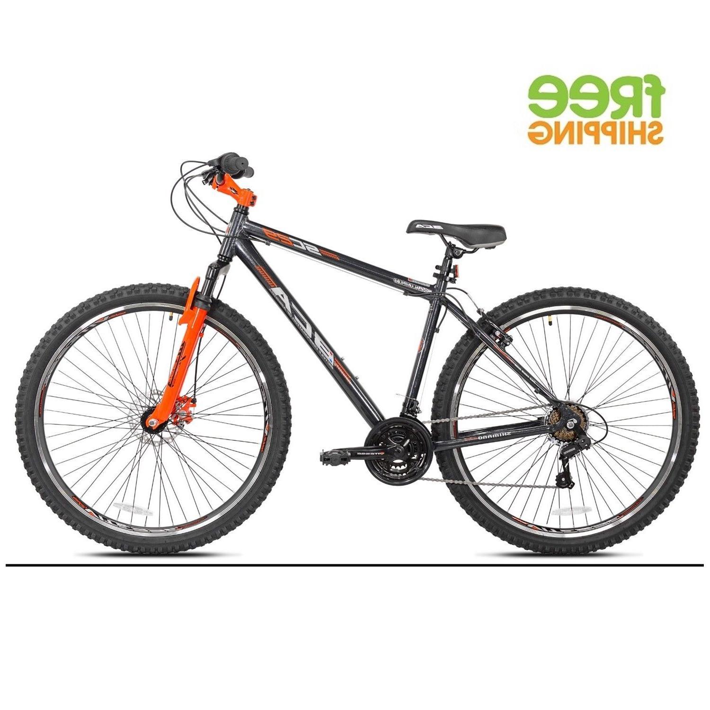 aluminum mountain bike 29 21 speed gray