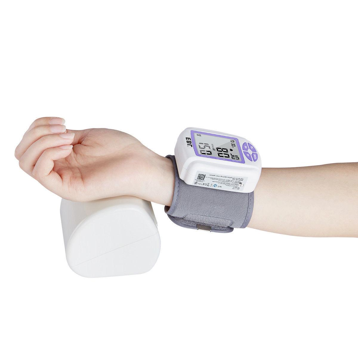Automatic Digital Wrist Blood Pressure Monitor Machine Test