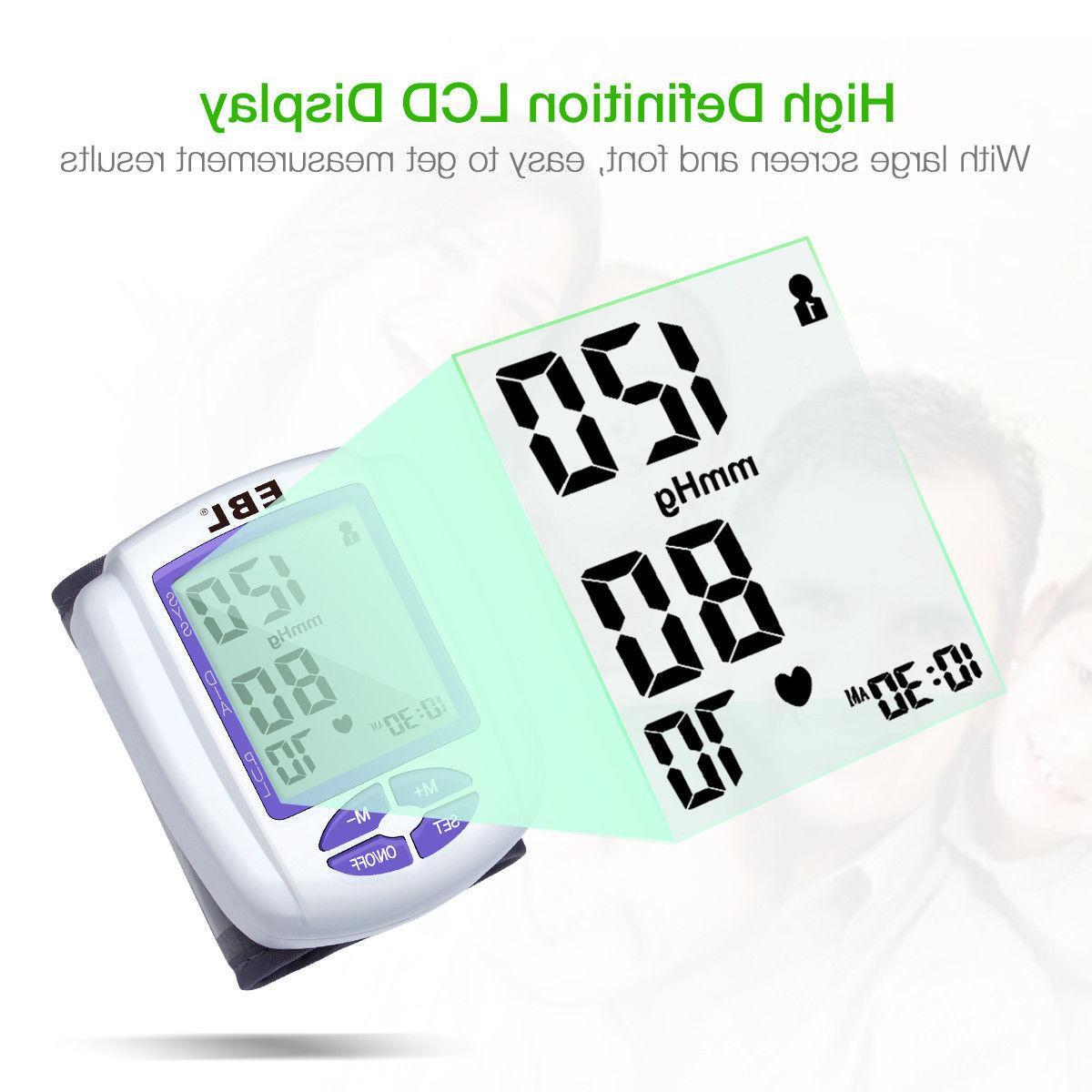 Automatic Digital Pressure Monitor BP Cuff Machine Test Device