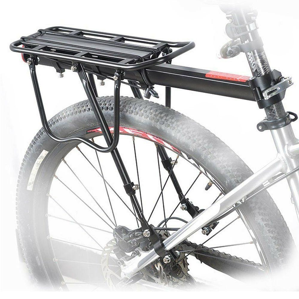 Bicycle Mountain Bike Rear Rack Seat Post Mount Pannier Lugg