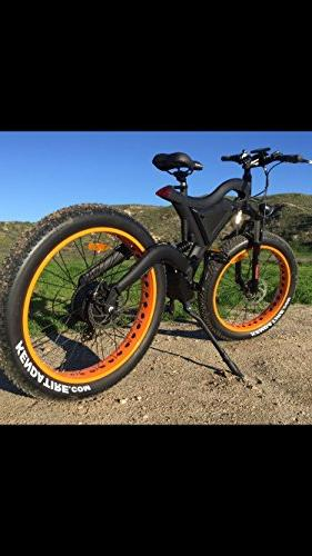 Fat Bike Bicycle Watts 48v