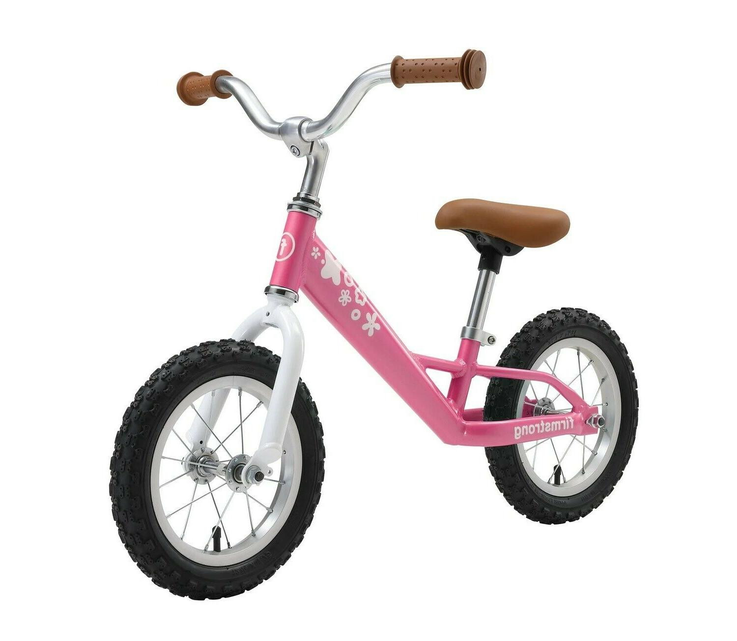 balance bike with air tires for kids