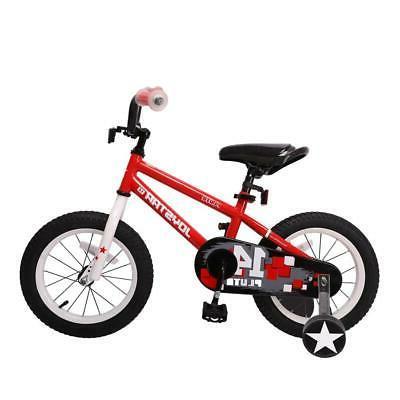 Bicycle 14 inch Kids Bike with Training Wheel and Coast Brea
