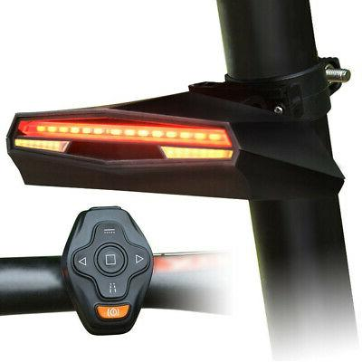 Bicycle Rear Tail Light Remote Control Turn Lights
