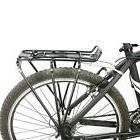Bicycle Carrier Rack Bike Rear Mount Black Cycling Post Moun