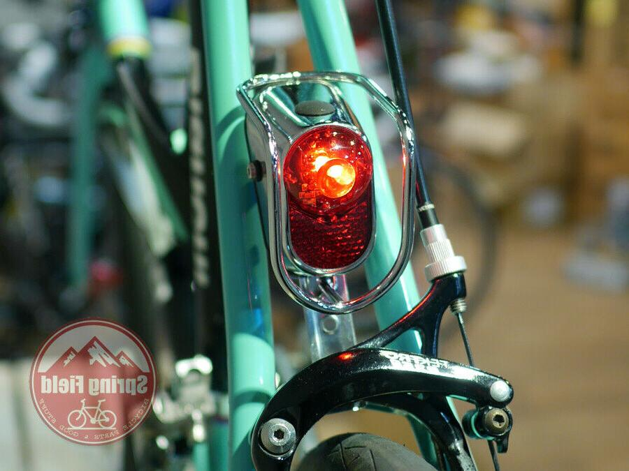 Bicycle Fender Vintage / Light / Chrome LED
