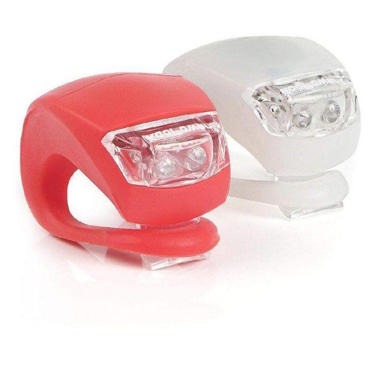 bicycle light front and rear silicone led
