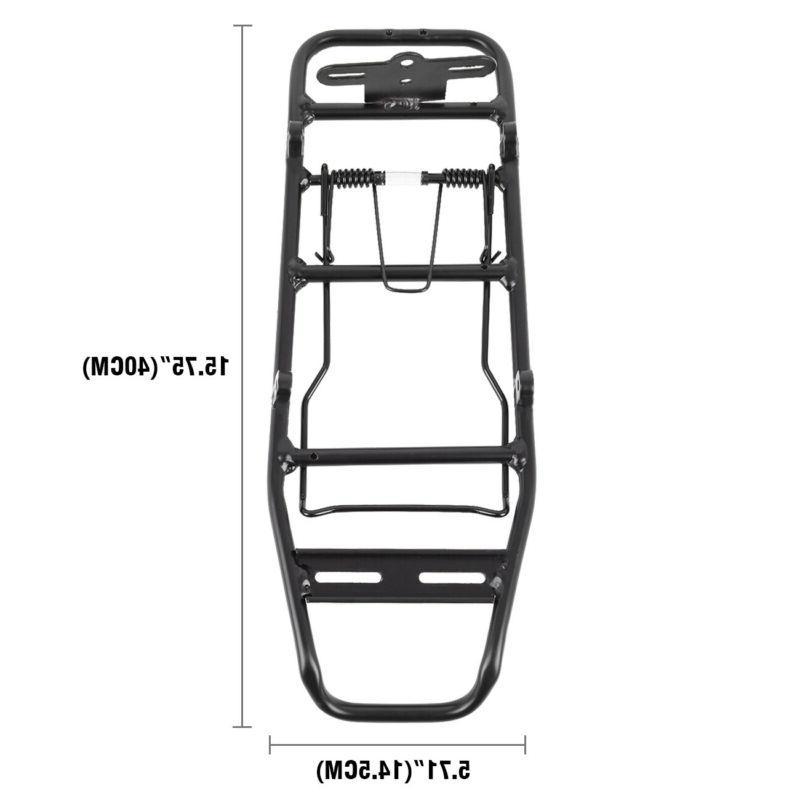 Bike MTB Rack Bracket Seat Mount Pannier Shelf