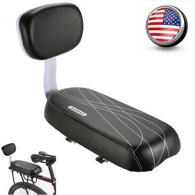 Lixada Bicycle Bike MTB Back Seat PU Leather Soft Cushion+Ch