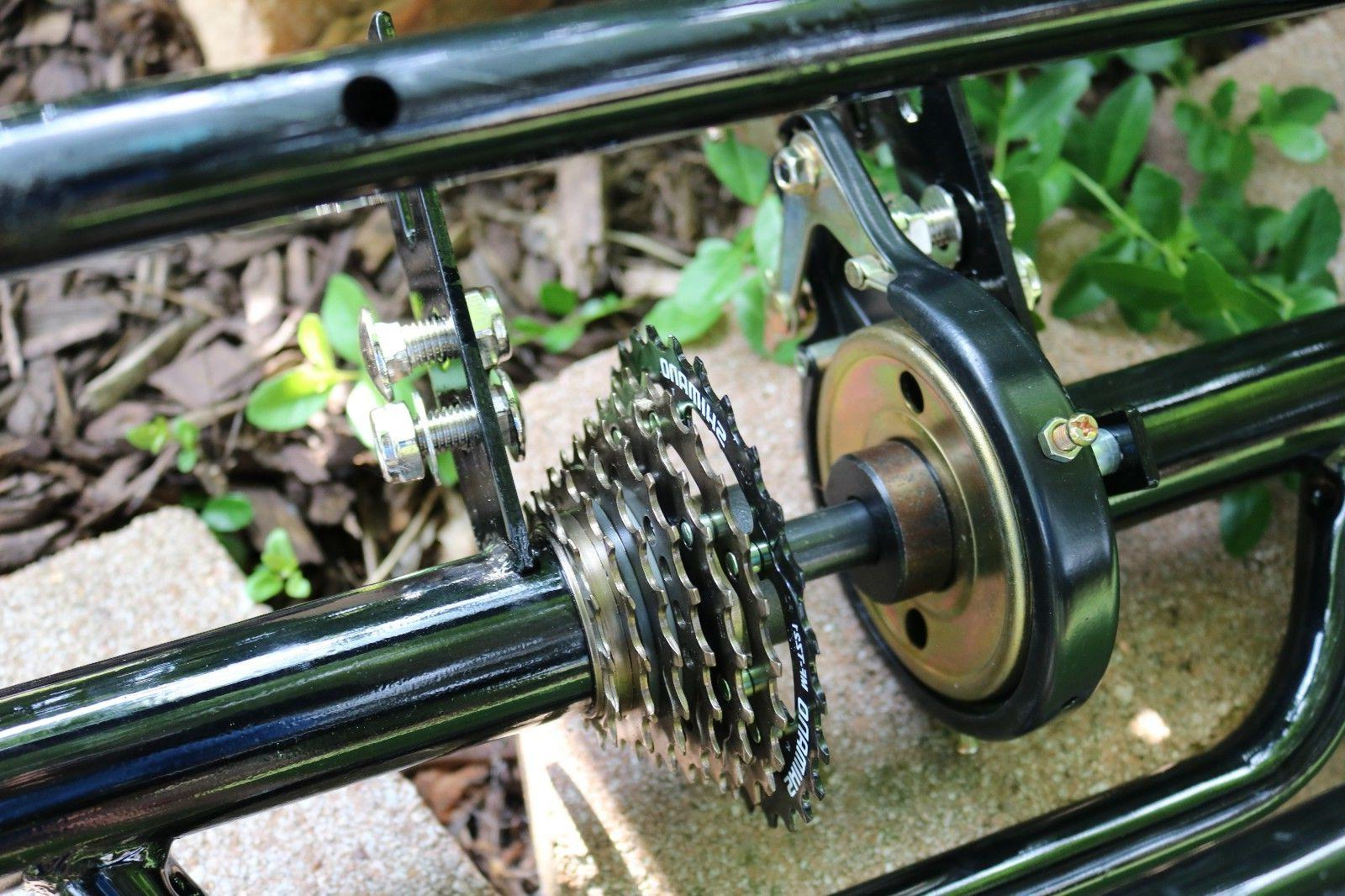 Bicycle to Tricycle Trike Conversion Kit for 7