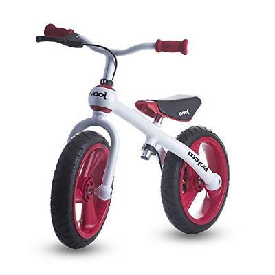bicycoo balance bike red