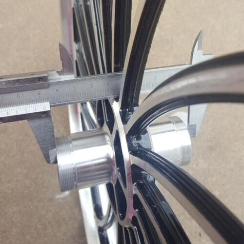 Bike Bicycle Front or Rear Wheel 20X 1.75//2.125//2.5/'/' Scooter eBike Chopper Size