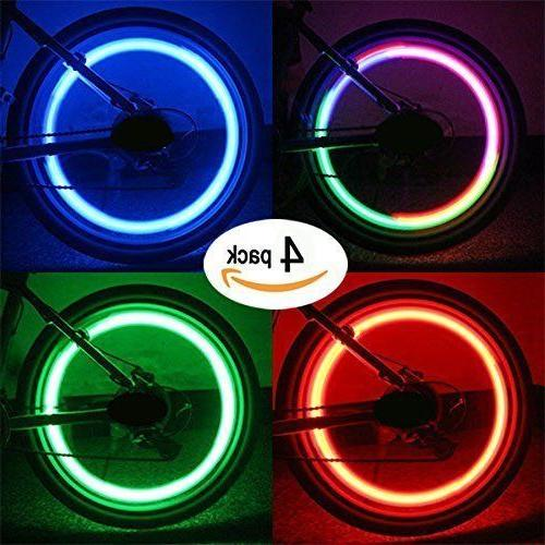 Bike Light Spoke Tyre Silicone LED USA
