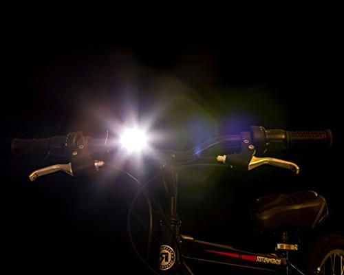 TeamObsidian Light - Super Bright LED Lights - Easy Headlight Quick Release Best Rear Cycle - Fits All