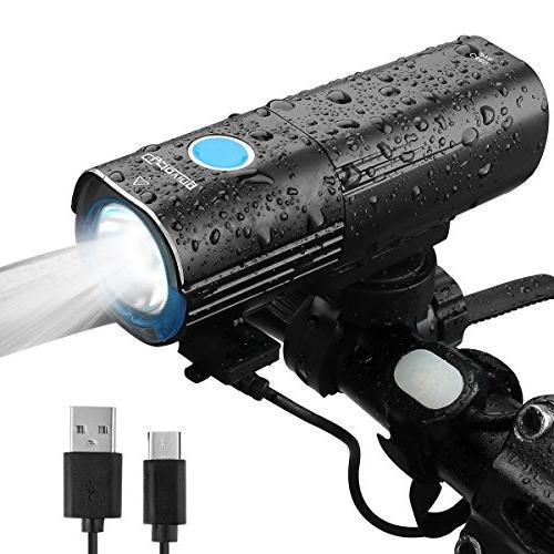 Revtronic 1600 Lumens Bike Light - Cree LED Bike Lights - Mo