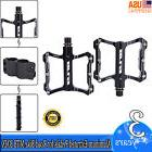 1Pair Bike Pedals Cycling Sealed Bearing Pedals Black For Ro