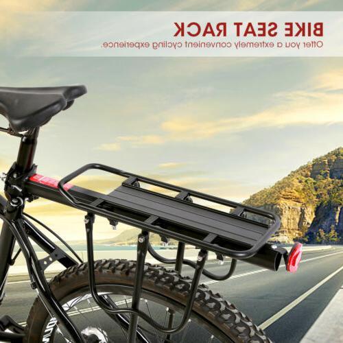 Bike Rear Rack Bicycle Seat Back Post Frame Carrier Holder C