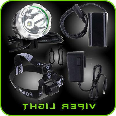 Bike Light LED 2000 LM T6 Rechargeable FREE Tail