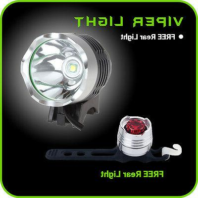 Bike Light 2000 CREE T6 Rechargeable Battery Tail