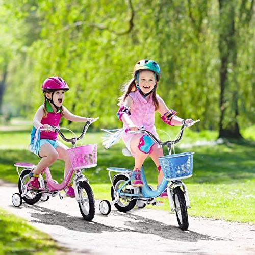 "Wheels Basket, 16"" Boy's Bicycle, Gift for Kids Balance"