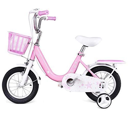 "Goplus Kids Bike Wheels and 16"" Boy's and Bicycle, Kids"